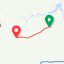 Map image of a Trip from June 24, 2015