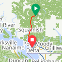 Map image of a Trip from July 14, 2015