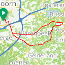 Map image of a Trip from July 16, 2015