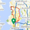 Map image of a Trip from April  4, 2012