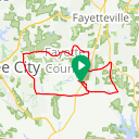 Map image of a Trip from September  7, 2015