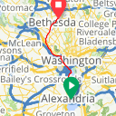 Map image of a Trip from May 19, 2012
