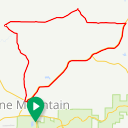 Map image of a Trip from September 22, 2015