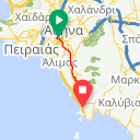 Map image of a Trip from October 19, 2015