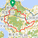 Map image of a Trip from October 29, 2015