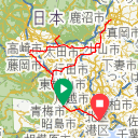 Map image of a Trip from November  1, 2015