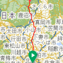 Map image of a Trip from November 23, 2015