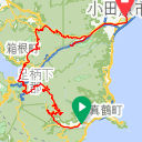 Map image of a Trip from January  4, 2016