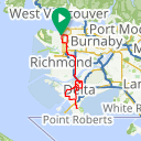 Map image of a Trip from July  2, 2012
