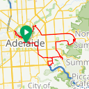 Map image of a Trip from January 19, 2016