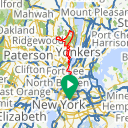 Map image of a Trip from March 12, 2016