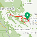 Map image of a Trip from March 18, 2016