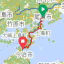 Map image of a Trip from March 20, 2016