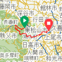 Map image of a Trip from March 26, 2016
