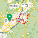Map image of a Trip from April 16, 2016