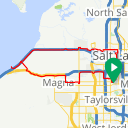 Map image of a Trip from June 29, 2016